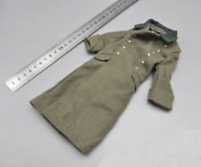 1/6 Scale Soldier Model Accessories Clothes WWII German Army Overcoat