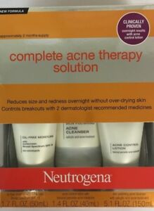 Neutrogena Advanced Solutions Acne Therapy System - (Pack of 1)