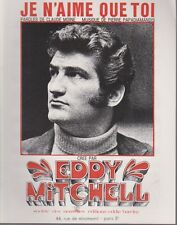 Eddy MITCHELL  Partition  JE N'AIME QUE TOI