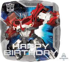 "Transformers Happy Birthday 18"" Foil Balloon"