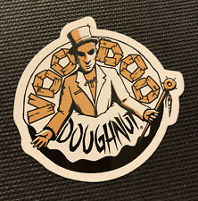 "VOODOO DOUGHNUT DONUT Sticker - 2.8"" - Portland Oregon - Free Shipping"