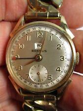Vintage Benrus Perpetual Calendar Watch. 10K Rolled Gold