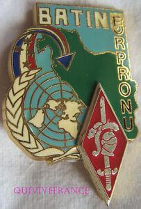 IN8631 - INSIGNE 10° Division Blindée, FORPRONU, BAT - INF Matriculé