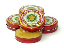 Golden Star Aromatic Balm - Cao Sao Vang Vietnam 2 x 10g FREE SHIPPING