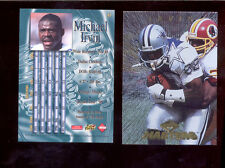 1997 CE Collectors Edge Masters MICHAEL IRVIN Dallas Cowboys Card