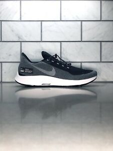 Nike Air Zoom Pegasus 35 Shield Mens Running Shoes Size 11 Black and Grey