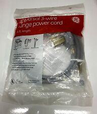Ge Universal 4-ft Range Power Cord, 4-Wire.