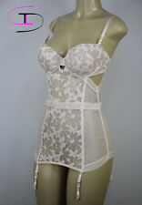 NWT Victoria's Secret LACE BUSTIER CORSET 36D B254
