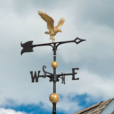 "30"" Full Bodied Eagle Weathervane - Bronze Gold"