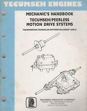 1992 TECUMSEH/PEERLESS MOTION DRIVE SYSTEM MECHANIC/SERVICE MANUAL 691218 (137)