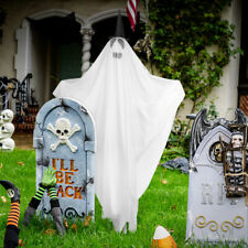 Halloween Ghost Yard Stake with LED Light Halloween Outdoor Decoration