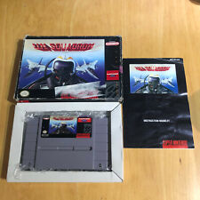 Super Nintendo/SNES en caja NTSC-un escuadrón completo
