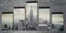 Fotodruck New York auf Rahmen in 5 Teilen - Foto-Kunst Photo Art Keilrahmen