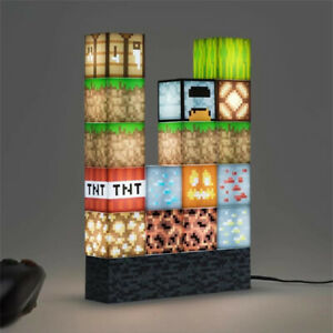 New Building Block Desk Lamp DIY Table Lamp Creative Toys Night Light Gifts Game