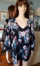 Suzanne grae 3/4 sleeve top / blouse 18
