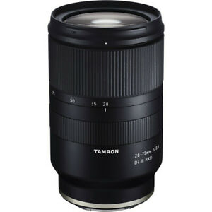 Tamron 28-75mm F/2.8 Di III RXD Fast Zoom Lens f/ Sony FACTORY REFURBISHED USA