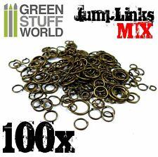 Jumplink Rings Mix x100 pieces - Hobby Chains Miniatures Warhammer 40k