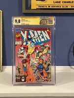 X-Men 1B CGC 9.8 SS 1991 Signed By Chris Claremont
