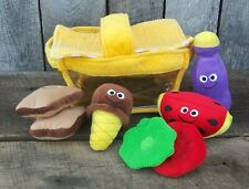 Pretend Play Food Drink Melissa & Doug Picnic Basket Fill & Spill Soft Toy