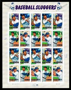 1¢ WONDER'S ~ 2005 MNH SOUVENIR SHEET W/ 39¢ BASEBALL SLUGGERS (FV=$7.80) ~ S23