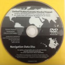 GMC GM Satellite Navigation GPS System Maps Disc Map CD 25974486U Ver 4.0C OEM
