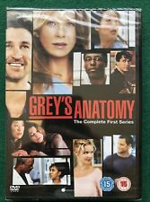 Greys Anatomy the Complete First Series DVD New and Sealed
