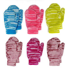 Mongolia Pure Cashmere Children Boys Girls Unisex Wool Gloves Mittens - ages 4-8