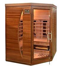 Infrarotkabine Wärmekabine Infrarotsauna Infrarot Kabine Sauna Zeder Holz Neu
