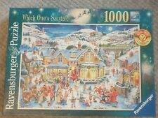 1000 piece jigsaw puzzle complete 'Which Ones Santa?'