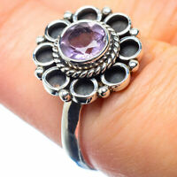 Amethyst 925 Sterling Silver Ring Size 7 Ana Co Jewelry R26054F
