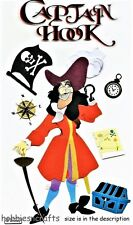 EK SUCCESS JOLEE'S BOUTIQUE DISNEY 3-D STICKERS - PETER PAN -  CAPTAIN HOOK