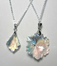 Beauty Mixed Metals Glass Costume Necklaces & Pendants