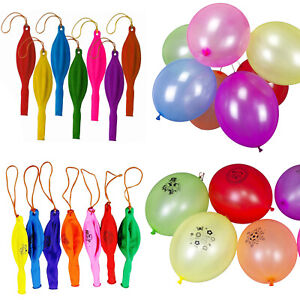Punch Ball Balloons 16 Inch  Assorted Colour Kids Party Loot Bag Fillers Prizes