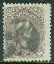 EDW1949SELL : USA 1862 Scott #78 Used Very Fresh. PSAG Certificate. Catalog $350