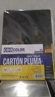 Foglio di cartone penna nero per manualità A4 29,7 x 21cm e 5 mm spessore