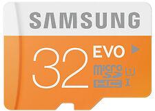 Samsung Evo 32GB MicroSDHC Class 10 UHS-I MicroSD HC 48MB/s Memory Card  RETAIL