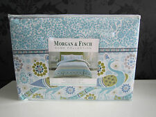 Morgan & Finch CELINE Flannelette Queen Bed Quilt Cover Set - from Bed n Bath