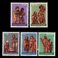Luxembourg 1971 - Nativity (Charity Issue) - Sc B282/6 MNH
