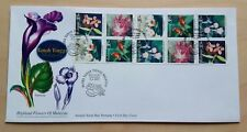 1997 Malaysia Highland Flowers Booklet Stamps on PSM FDC (Kuala Lumpur Cachet)