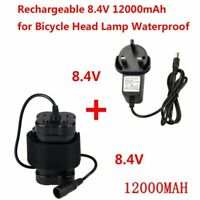 Rechargeable 8.4V 6X18650 4X18650 Battery Pack For Bicycle light Bike Torch