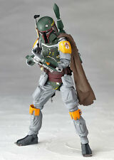 Kaiyodo Revoltech Star Wars Series No.005 Boba Fett Action Figure New In Box