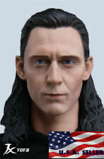 "1/6 The Avengers LOKI Head Sculpt For 12"" Hot Toys Worldbox Male Figure ❶USA❶"