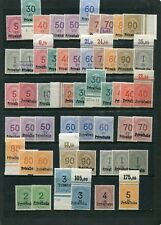 Deutschland Vereinn Privateisenbahnmarken 53 W.** TOP-Sammlung!1905-19  (E-109B)