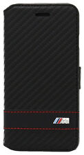 BMW Book Case M Collection Protective Cover iPhone 6 6s Carbon Effect Cell