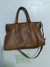COACH Brown Pebbled Leather Bag Purse