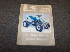 1987 Kawasaki KXF250 Tecate-4 ATV Quad Four 4-Wheeler Shop Service Repair Manual