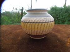 Vintage Dumler + Breiden Terra Series West German Pottery Vase -Bowl -Sgraffito