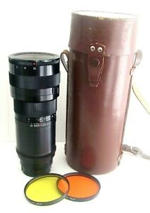 TAYIR 33 300mm F4.5 TELEPHOTO LENS with CASE CAPS & FILTERS - UK DEALER