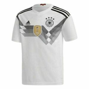 MEN'S ADIDAS GERMANY 2018/2019 DEUTSCHLAND SOCCER FOOTBALL SHIRT JERSEY SIZE L