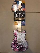 Paper Jamz Guitar Series 2 Pink Tele Style 3 New!!!